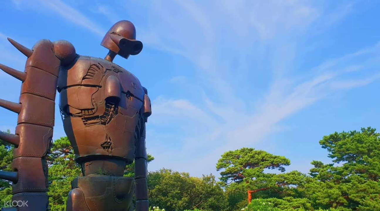 ghibli museum statue